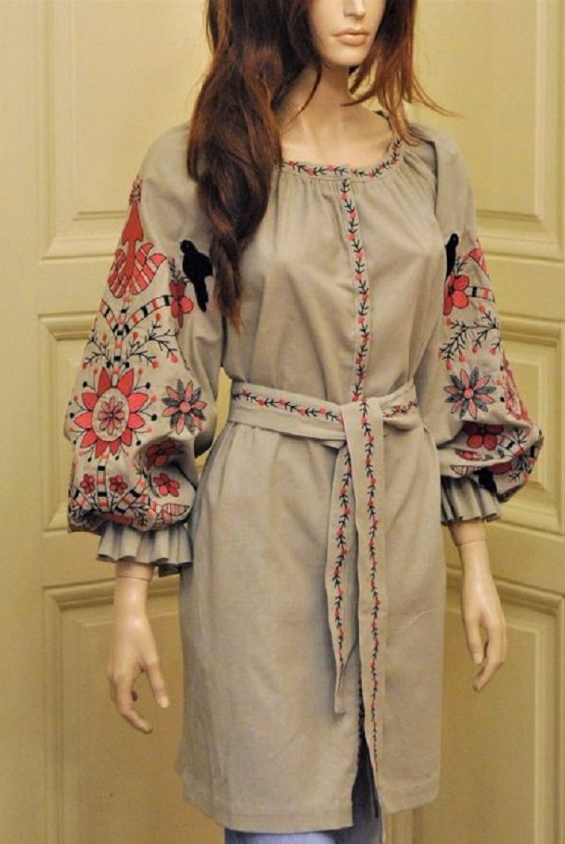 Вышитая бохо блузка - стильное вышитое платье - красивая вышиванка -  Каталог рукоделия  103516 807f6057c9f5b