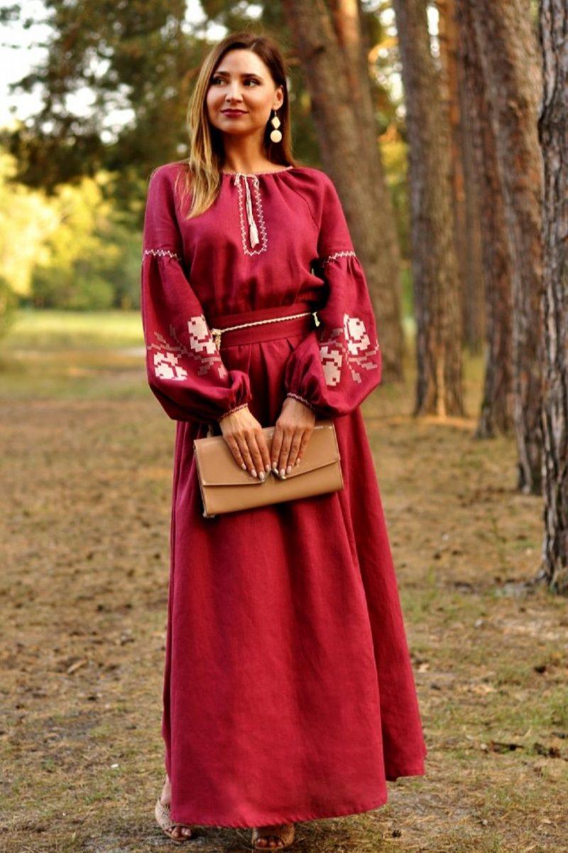 Дизайнерське вишите плаття в українському стилі (П24-266) - Каталог  рукоділля  122178 533843e76c267