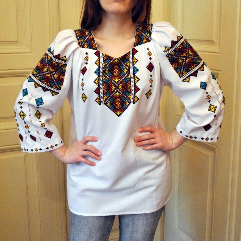 Ручна вишивка жіноча сорочка в техніці низинка - Каталог рукоділля  131535 2b2744d4f21dc