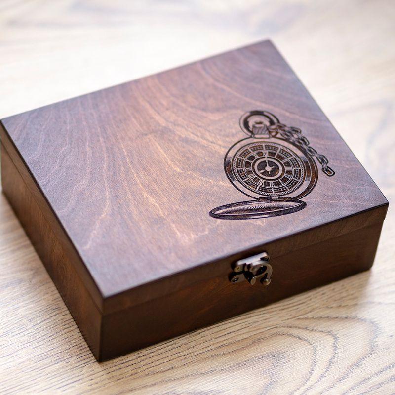 Коробка для годинника з дерева на 6 відділень Hetch DS9 - Каталог рукоделия   139629 bf52b0aac5bf2
