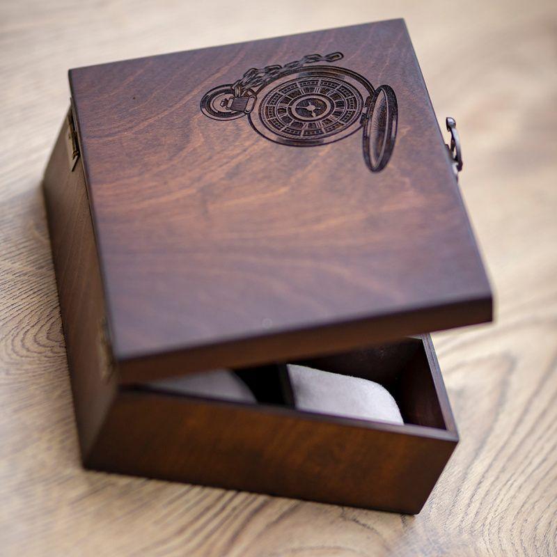Коробка для годинника з дерева на 6 відділень Hetch DS9 - Каталог ... 2c5259548841c