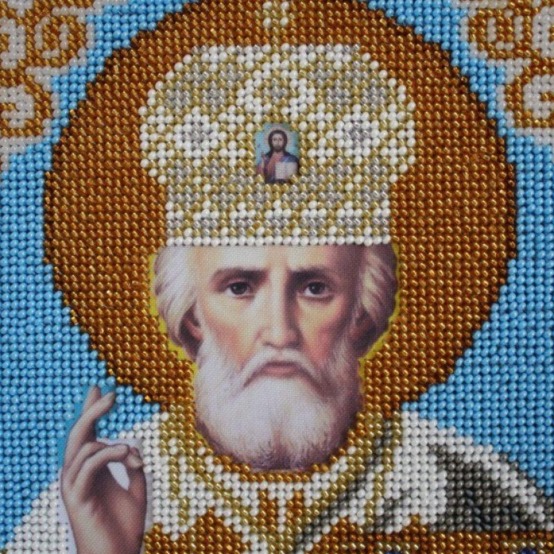 Ікона бісером Св Миколай - Каталог рукоділля  36549 326f29f5507b1
