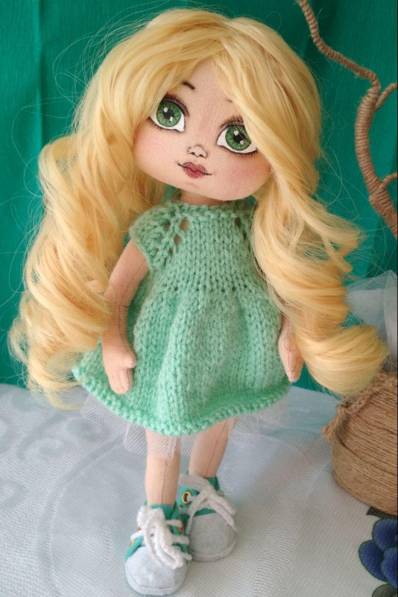 Ігрова текстильна лялька ручної роботи - Каталог рукоділля  89087 81cbd05131b6d