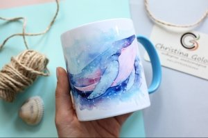 Чашка з китом