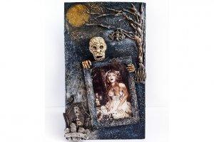 """Фоторамка """"Happy Halloween"""" Оригинальный подарок на Хэллоуин"""