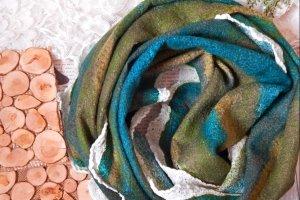 Снуд хомут шалик валяний лісова пісня стильний шарф - Опис