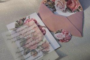 двошарові запрошення в конверті - ДРУГИЕ РАБОТЫ