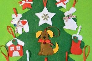 У НАЯВНОСТІ! Новорічний набір із ялинки та іграшок - ІНШІ РОБОТИ