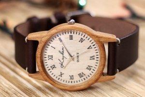 Годинник з дерева, жіночий, бук, 03R3530BB - ІНШІ РОБОТИ