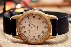 Робота Годинник з дерева, жіночий, грецький горіх, 03R3530OO