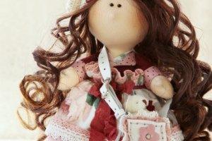 Робота Интерьерная куколка София