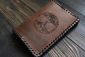 Обгортка на паспорт з Деревом Життя (2) - ІНШІ РОБОТИ