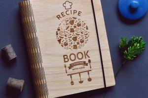 "Кулинарная книга ""Recipe book. Cooking with love."" - ІНШІ РОБОТИ"