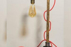 """Настільна лампа """"Pride&Joy"""" із дерева - Опис"""