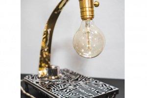 "Настільна лампа ""Pride&Joy"" Industrial Exclusive 02LI - Опис"