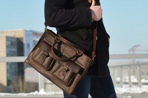 Мужской портфель EveryDay Brown - Опис