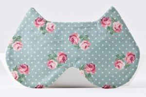 Маска для сна кошка с розами, подарок девушке - ІНШІ РОБОТИ