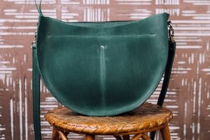 """Сумка """"SEMI"""" сумка из кожи, сумка круглая, дешевая сумка - Опис"""