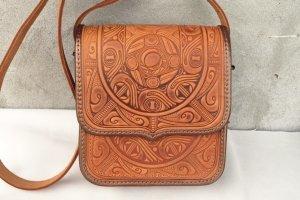 сумка шкіряна ручної роботи Трипілля-рижа - Опис