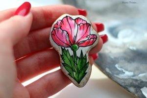 Брошка Яблуневий цвіт - ІНШІ РОБОТИ