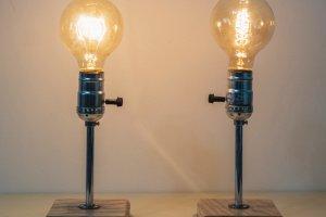 """Настільна лампа """"Pride&Joy"""", прикроватна лампа 01BL - Опис"""