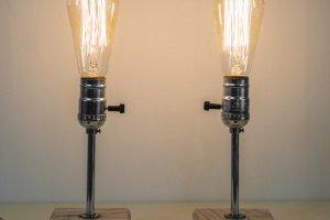 """Настільна лампа, прикроватна лампа """"Pride&Joy""""  02BL - Опис"""