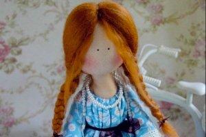 """Портретна лялька Анна """"Принцесса на картошине""""  - ІНШІ РОБОТИ"""