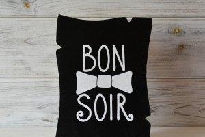 Робота Постер «Bon Soir»