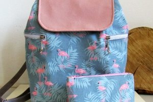 "Робота Рюкзак ""Flamingo"" жіночий текстиль"