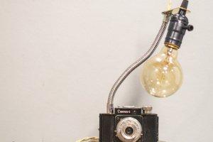 Робота НАСТІЛЬНА ЛАМПА PRIDE&JOY Camera GIFT