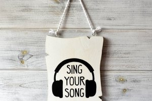 Робота Постер «Sing Your Song»