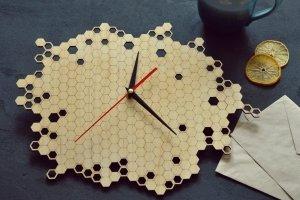 "Робота Настенные часы ""Honeycombs"""