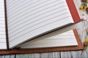 Стильный кожаный блокнот с гравировкой - Опис