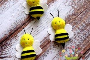 "Брошь ""Пчелка"" - Опис"