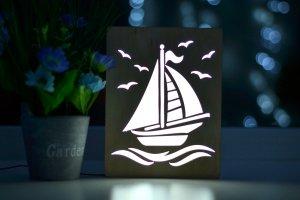 Робота Светильник для ребенка - Кораблик