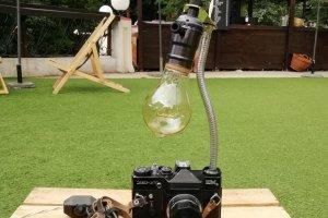 Робота НАСТІЛЬНА ЛАМПА PRIDE&JOY Camera lamp