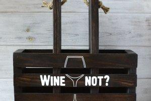 Робота Короб для вина і келихів
