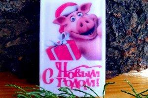 Новогоднее мыло Свинка - ІНШІ РОБОТИ