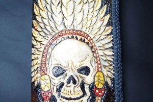 Кожаный кошелек BLt8a - ІНШІ РОБОТИ