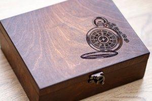 Коробка для годинника з дерева на 6 відділень Hetch DS9 - ІНШІ РОБОТИ