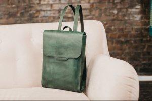 Рюкзак женский кожаный, Городской рюкзак - ІНШІ РОБОТИ