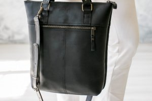 Робота Сумка ZIP, шкіряна сумка, сумка для документов,