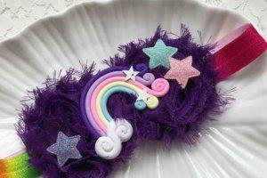 Робота Пов′язка веселка фіолетова
