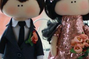 """Интерьерные куклы """"Cвадебная пара"""" - Опис"""