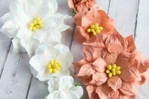 Квітидля скрапбукінгу