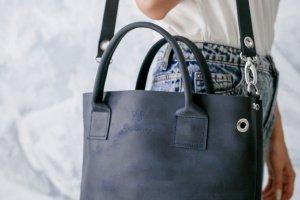 """Сумка """"Люверс"""", кожаная женская сумка,  шкіряна сумка - Опис"""