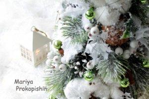 """Новорічна ялинка """"Сніжна"""" - Опис"""