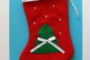 Рождественский носок ′Елка′  - ІНШІ РОБОТИ