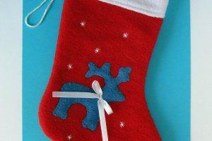 Робота Рождественский носок ′Олень′