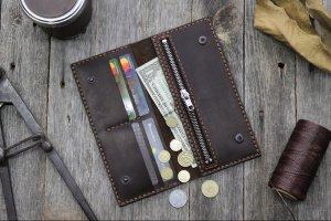 Робота Кожаный кошелек с Вашей гравировкой